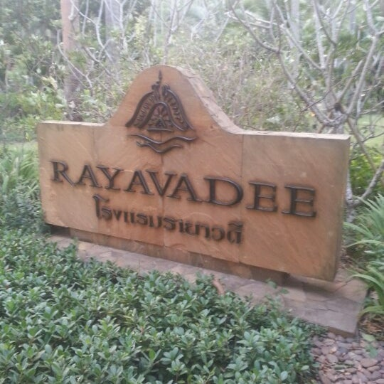 Photo taken at Rayavadee by Ilya D. on 2/11/2013