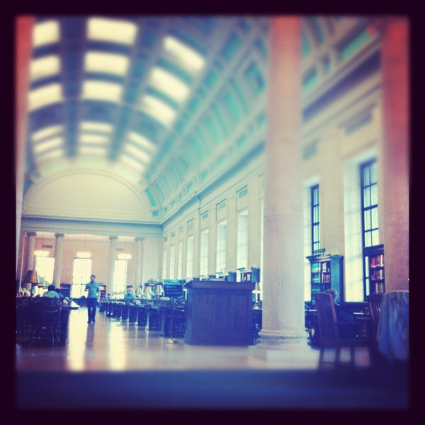 Photo taken at Widener Library by Natalie L. on 5/4/2013
