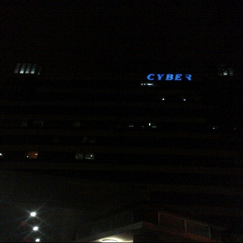 Photo taken at Gedung Cyber 1 (Elektrindo) by Ganis S. on 1/14/2013