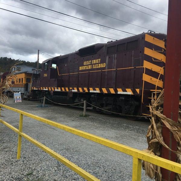 Photo taken at Great Smoky Mountain Railroad by Megan D. on 10/21/2016
