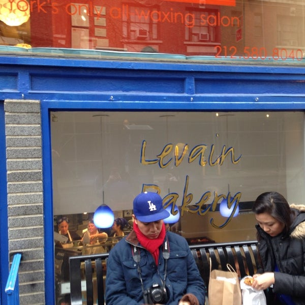 Photo taken at Levain Bakery by Calvin on 3/28/2014