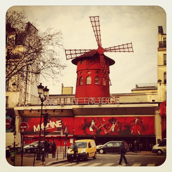 Photo taken at Moulin Rouge by Ibrahim D. on 2/13/2013