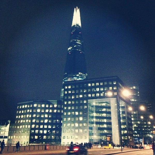 Photo taken at London Bridge by Kris T. on 3/12/2013
