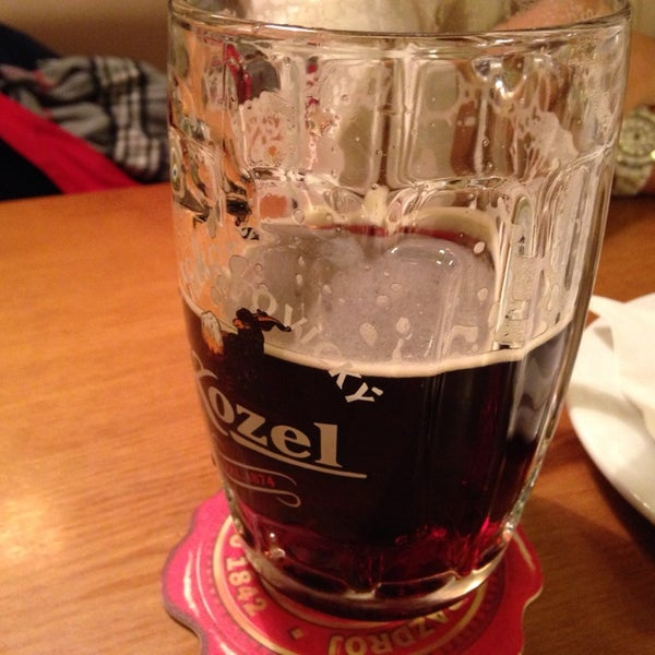 Photo taken at Kulaťák Pilsner Urquell by Jeffrey B. on 12/7/2013