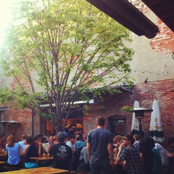 Photo taken at Frankford Hall by Mike K. on 5/30/2013