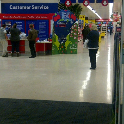 Photo taken at Tesco Extra by Clive C. on 11/5/2012