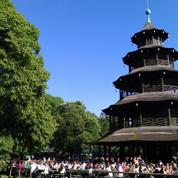 Spielplätze Englischer Garten: Biergarten Am Chinesischen Turm