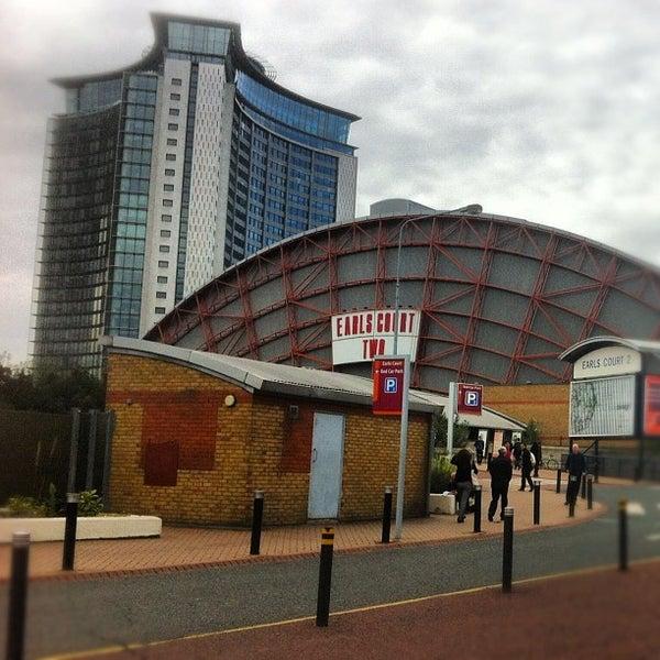 Photo taken at Earls Court Exhibition Centre by Darren Q. on 10/3/2012