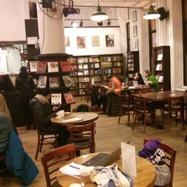 Photo taken at Housing Works Bookstore Cafe by Alyosha S. on 3/4/2014