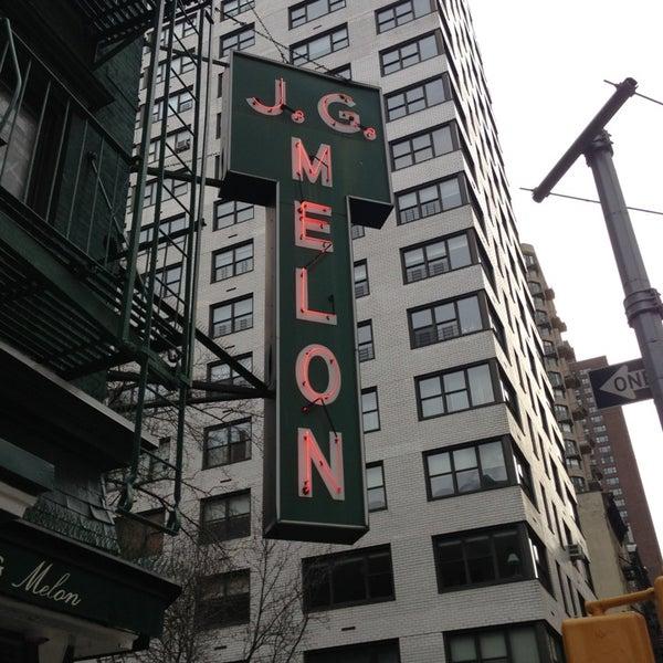 Photo taken at J.G. Melon by Dane L. on 2/7/2013