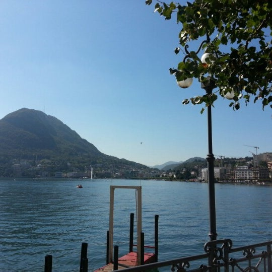 Photo taken at Lago di Lugano by João C. on 9/16/2012