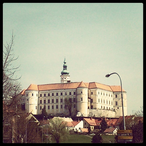 Photo taken at Zámek Mikulov by Tomi V. on 4/18/2013