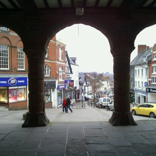 Photo taken at Ross-on-Wye by Hasina G. on 3/20/2013