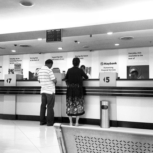 Photo taken at Maybank by Farhan A. on 8/22/2013