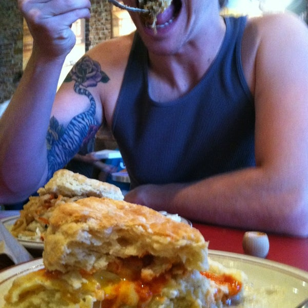 Photo taken at Denver Biscuit Company by Sarah on 7/20/2013