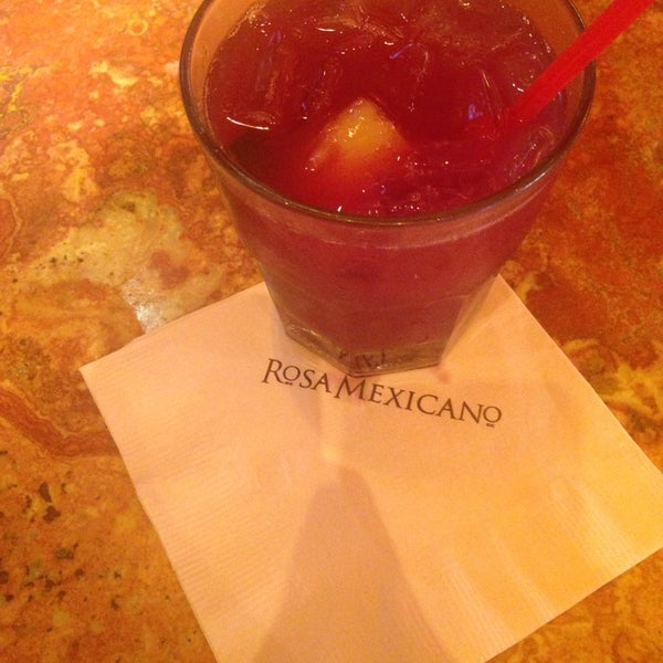 Photo taken at Rosa Mexicano by Angela K. on 8/26/2014