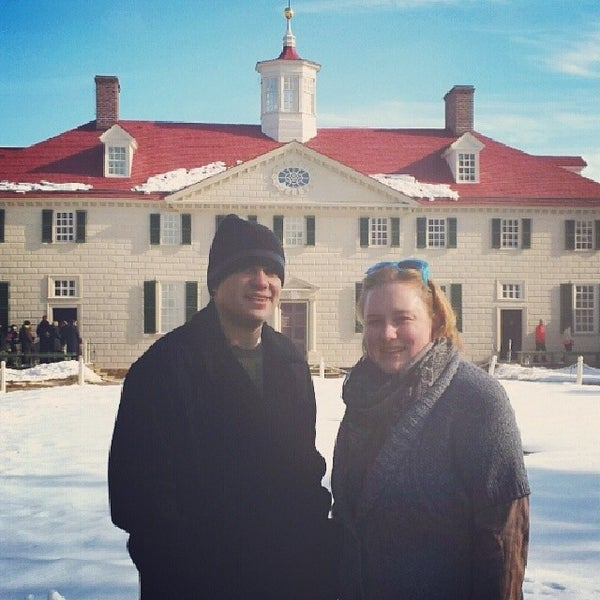 Photo taken at George Washington's Mount Vernon Estate, Museum & Gardens by Mary Kate on 2/18/2014