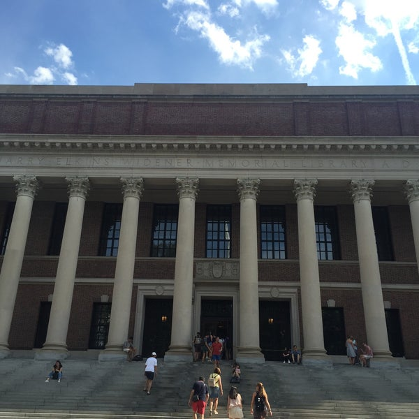 Photo taken at Widener Library by Katya P. on 7/16/2016