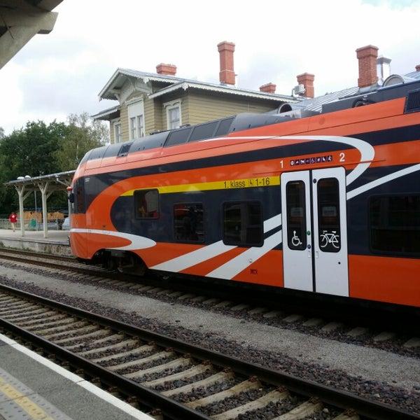 Photo taken at Tartu Raudteejaam by Kristaps G. on 8/16/2014