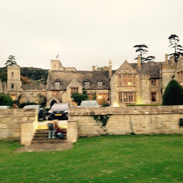 Photo taken at Ellenborough Park by Gitte on 10/23/2014