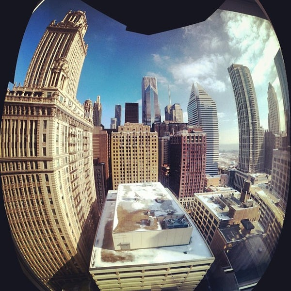 Photo taken at theWit Chicago - A DoubleTree by Hilton Hotel by Jonathan G. on 2/9/2013