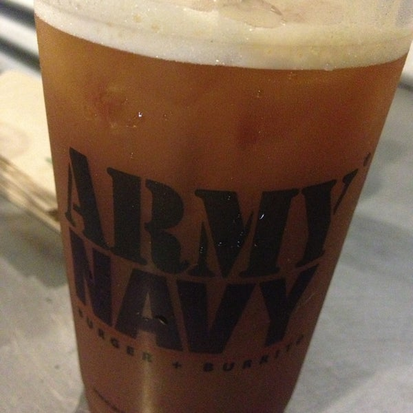 Photo taken at Army Navy Burger + Burrito by Diana L. on 4/11/2013