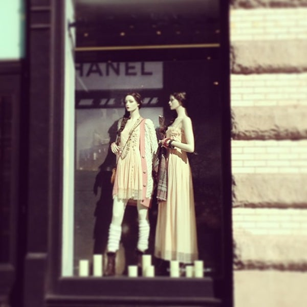Photo taken at CHANEL Boutique by Heather L. on 8/5/2013