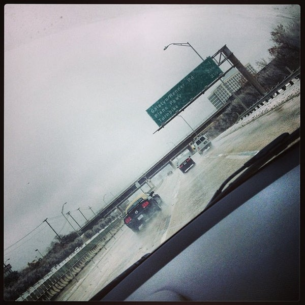 Photo taken at U.S. Highway 75 (US-75) by Carolina W. on 12/8/2013