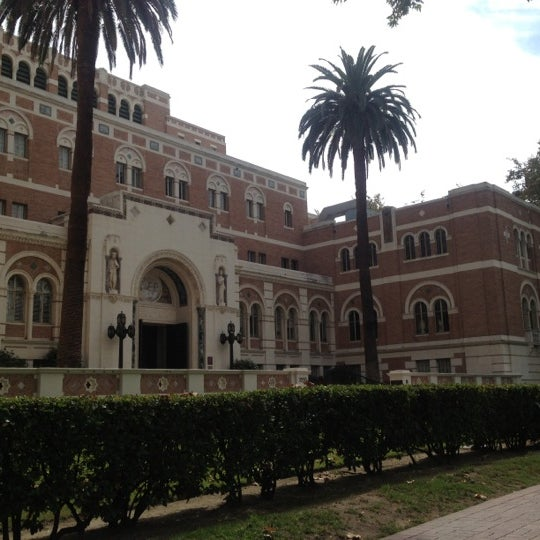 Photo taken at Doheny Memorial Library (DML) by MAKIKO I. on 10/6/2012