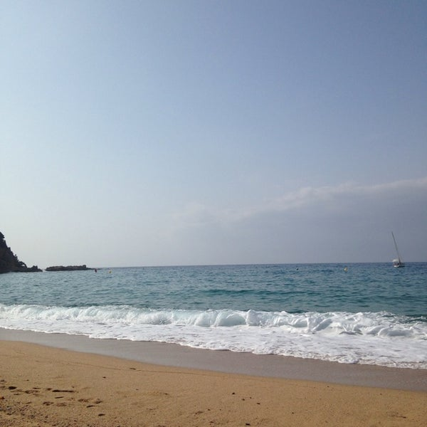 Photo taken at Cala Canyelles by Alexia on 6/22/2014
