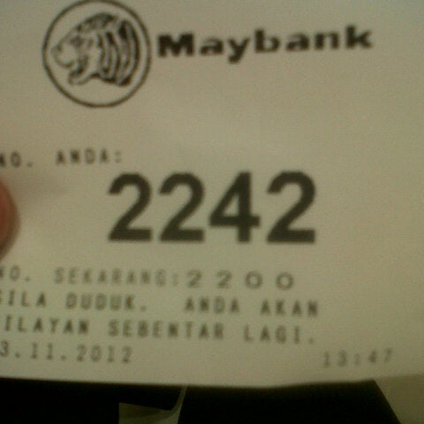 Photo taken at Maybank by Adha S. on 11/23/2012