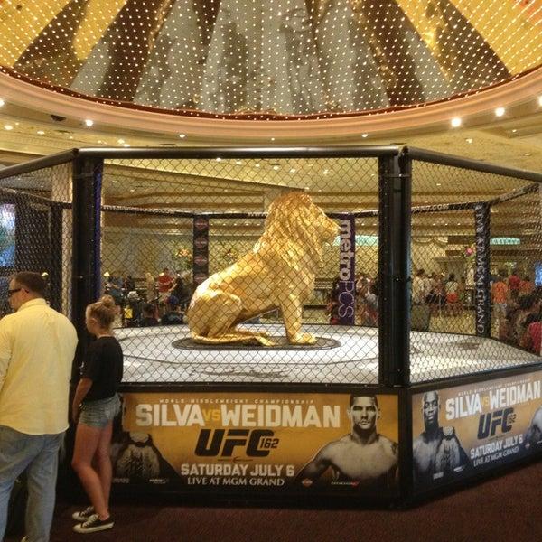 Photo taken at MGM Grand Hotel & Casino by John K. on 7/3/2013