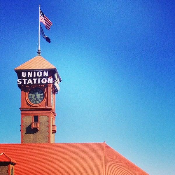Photo taken at Union Station Amtrak (PDX) by Jonny B. on 8/7/2013