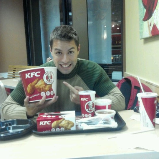 Photo taken at KFC by Pedro C. on 11/22/2012