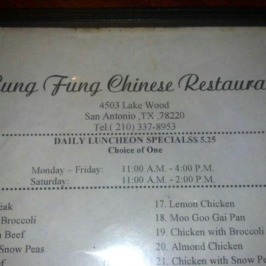 Lung Fung Chinese Restaurant San Antonio Tx