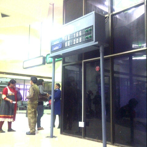 Photo taken at Netaji Subhash Chandra Bose International Airport (CCU) by Soorjaneel C. on 12/29/2012