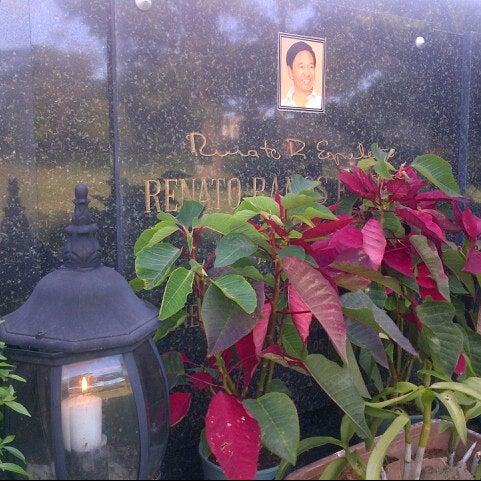 Photo taken at Manila Memorial Park by Lyn E. on 1/20/2013