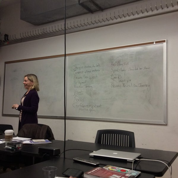 Photo taken at NYU ITP by Max M. on 4/8/2014