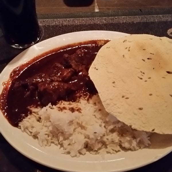 By far the HOTTEST lamb vindaloo I've ever had.