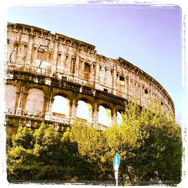 Photo taken at Piazza del Colosseo by Clint W. on 1/18/2013