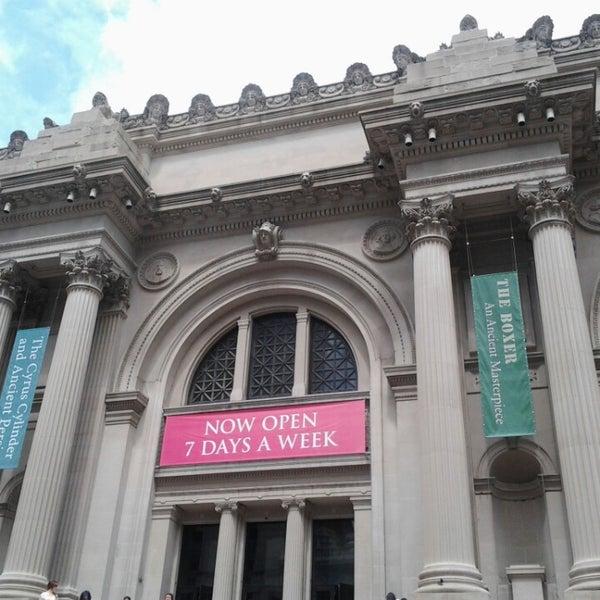 Photo taken at Metropolitan Museum of Art by Carla B. on 6/26/2013