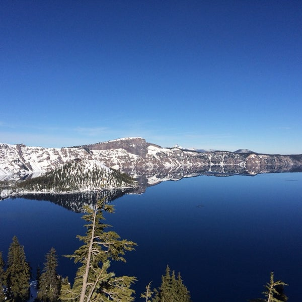 Photo taken at Crater Lake National Park by Sammi L. on 1/18/2014