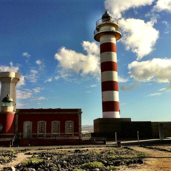 Faro del tost n lighthouse in el cotillo fuerteventura for Planimetrie del faro