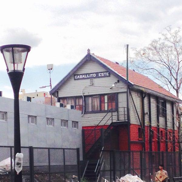 Photo taken at Estación Caballito [Línea Sarmiento] by MiKe R. on 9/26/2015