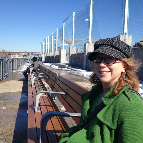 Photo taken at Brooklyn Bridge Park - Pier 6 by Adrian C. on 2/22/2014