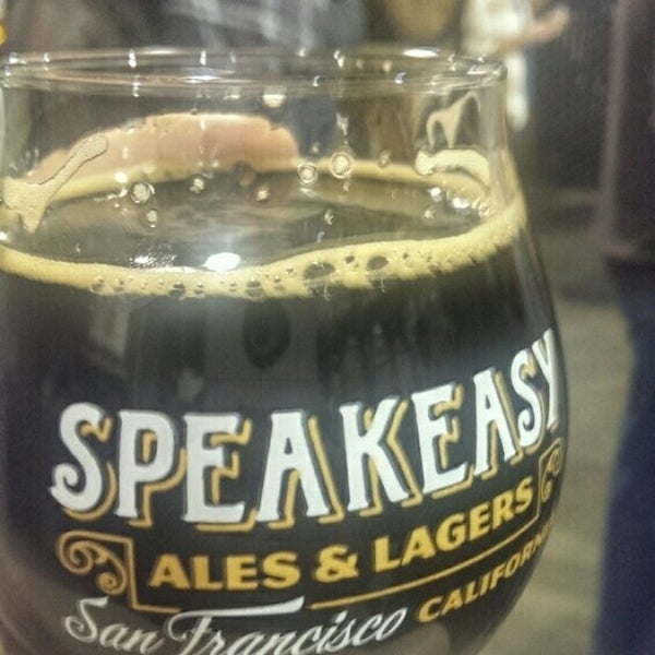 Photo taken at Speakeasy Ales & Lagers by Brian D. on 2/16/2014