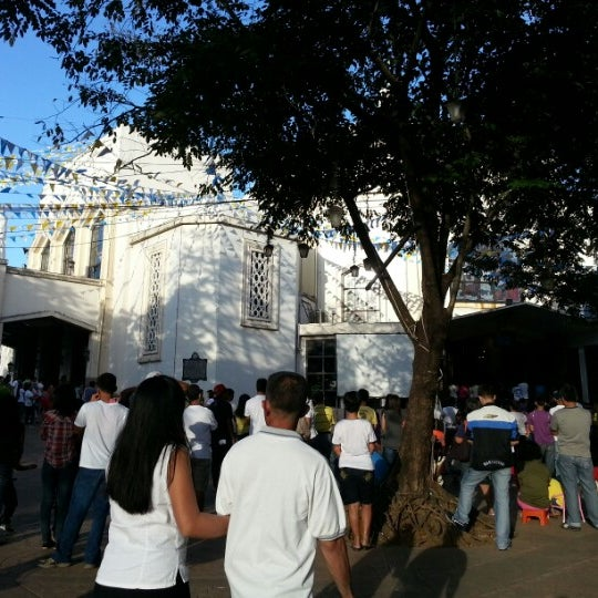 Photo taken at National Shrine of Our Lady of Peace and Good Voyage (Antipolo Cathedral) by Annie D. on 11/25/2012