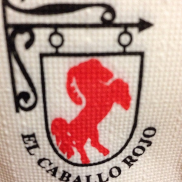 Photo taken at Restaurante El Caballo Rojo by Na L. on 5/1/2014