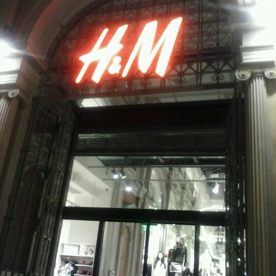 Photo taken at H&M by Petros L. on 11/9/2012