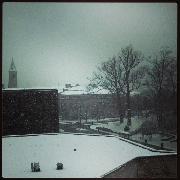 Photo taken at Cornell University by Nathan R. on 12/10/2013